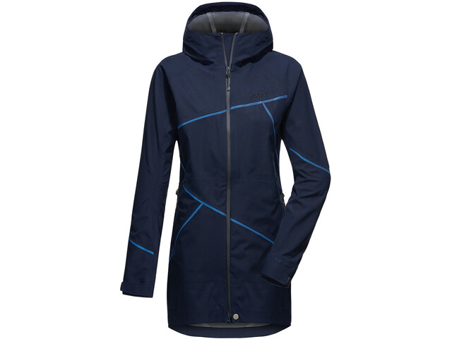 Klettergurt Gelbox : Pyua spray s 3 layer jacket women navy blue campz.de